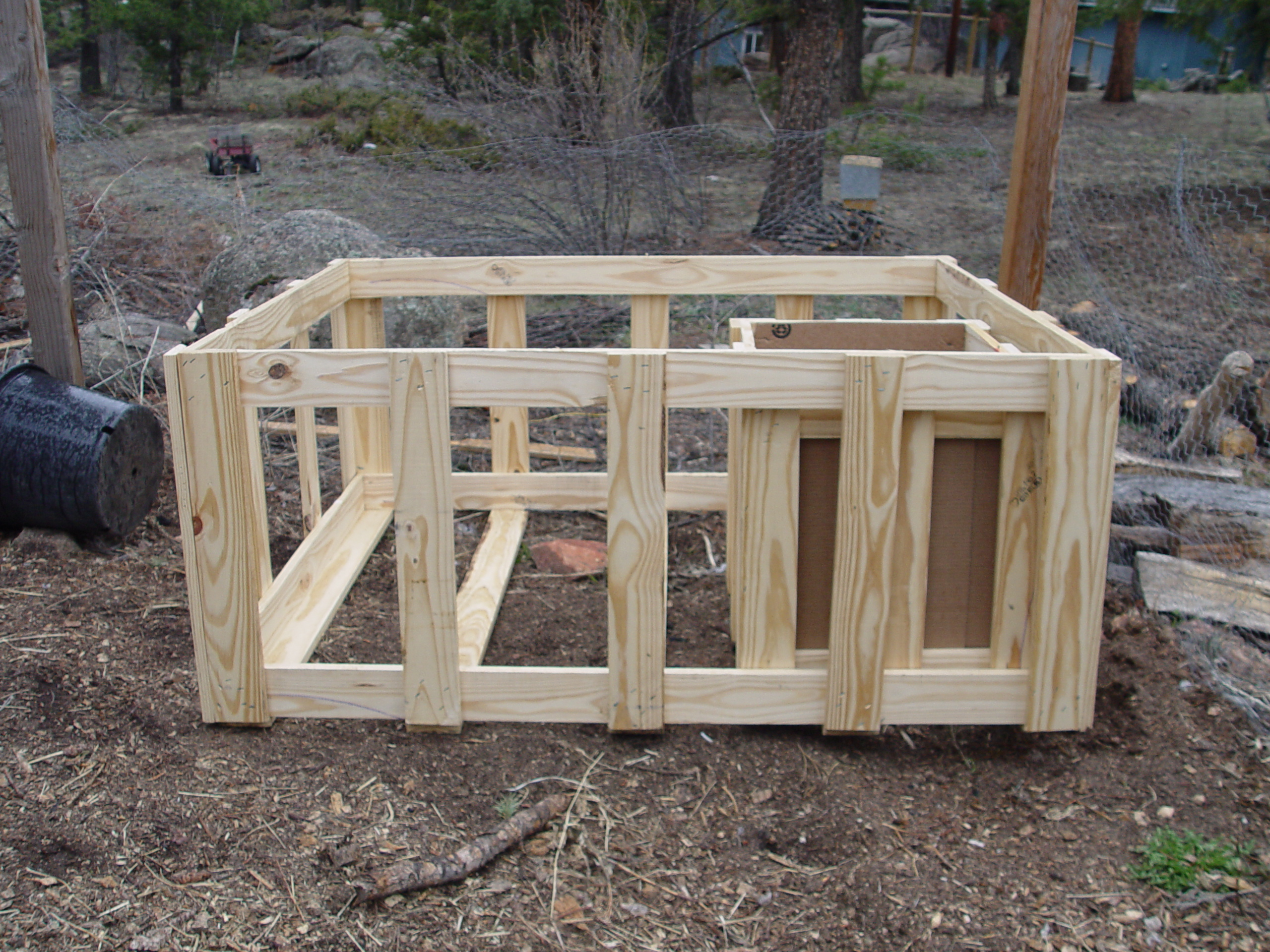 Diy Rabbit Hutch From Pallets