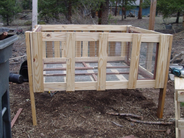 Rabbit hutch DIY plans