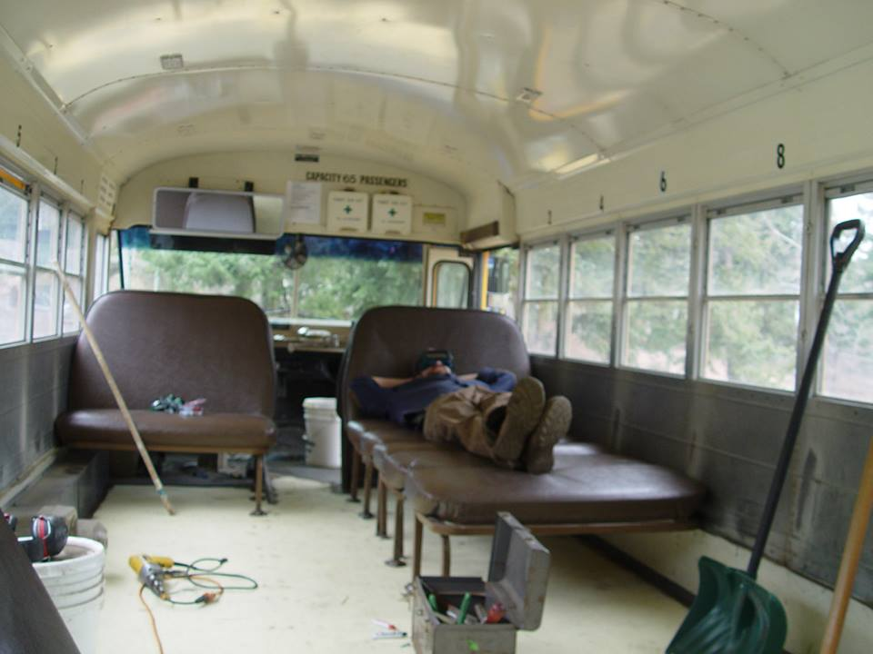 Sunny the School Bus Camper Conversion The Tiny Homesteaders