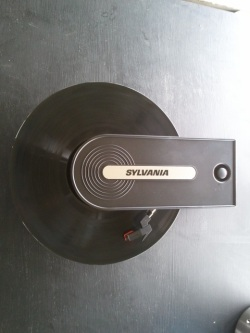 Sylvania record player